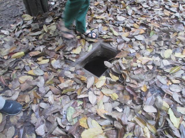 クチトンネル観光
