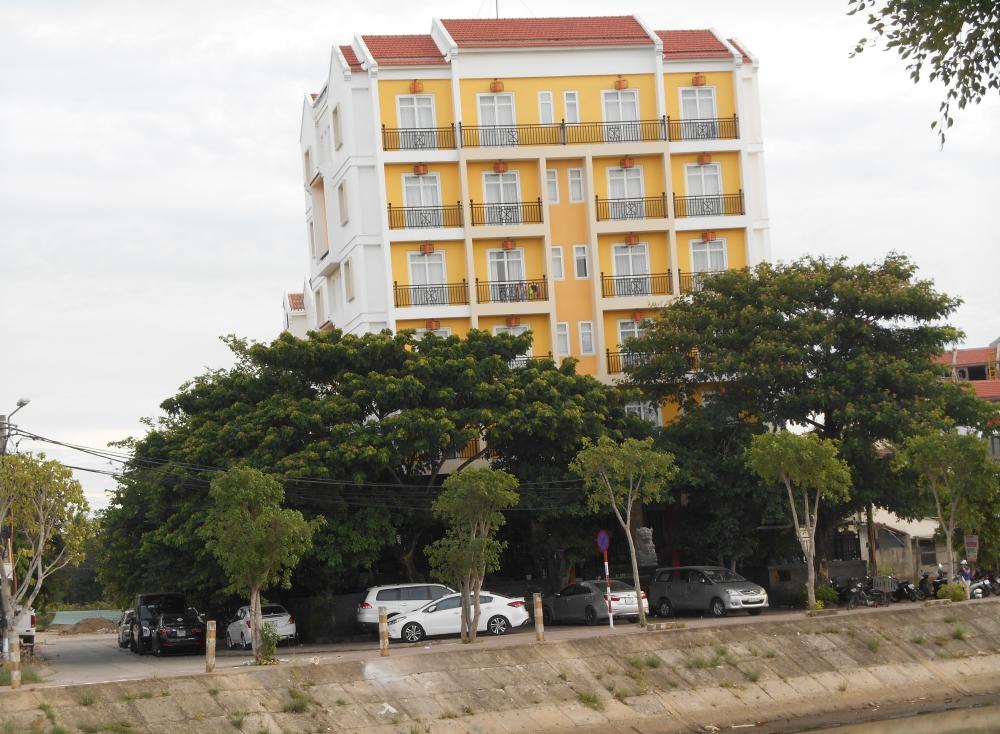 オリエンタルな雰囲気のミニホテル