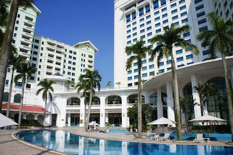 デウーホテル 屋外プール