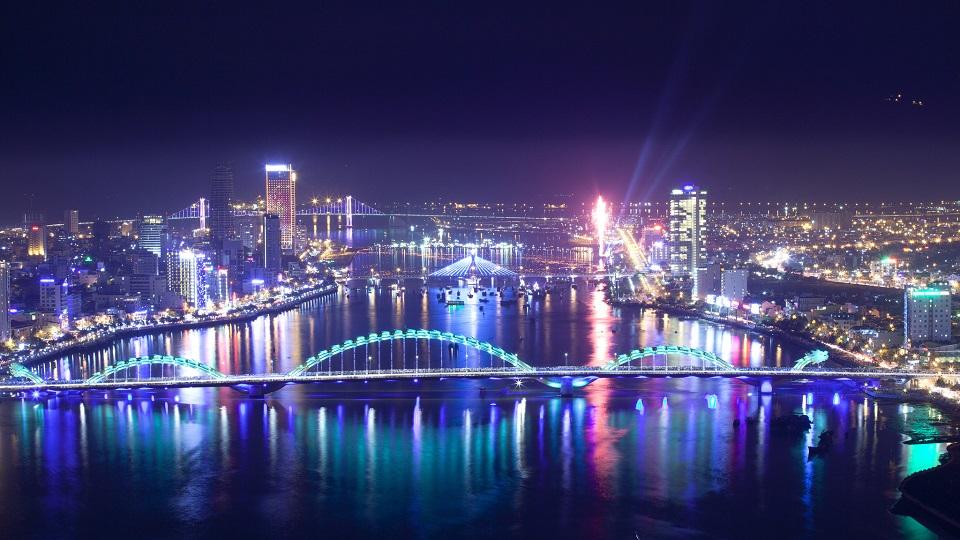 Danang Cityの夜景